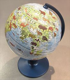 Animals Globe -  #Globe #Stanfords