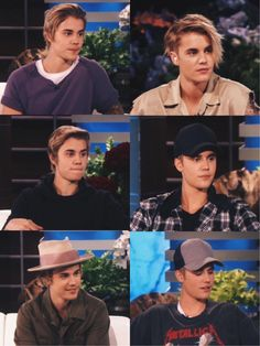 Bieber on Ellen
