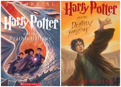 The Deathly Hallows|Harry Potter Celebrates 15 Years with New Covers #redesign #bookcover #coverart