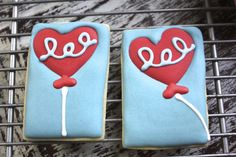 Silly sweet treat Valentine cookies | paddle attachment