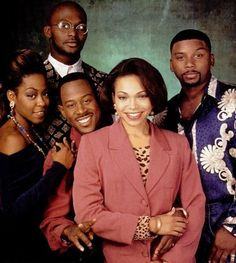 Martin cast ( August 1992 to May Tichina Arnold as Pamela James, Thomas Mikal Ford as Tommy Strong, Martin Lawrence as Martin Payne, Tisha Campbell as Gina Waters-Payne and Carl Anthony Payne II as Cole Brown 90s Tv Shows, Movies And Tv Shows, New School Hip Hop, School Tv, Black Sitcoms, Ebony Magazine Cover, Black Tv Shows, Por Tras Das Cameras, Martin Show