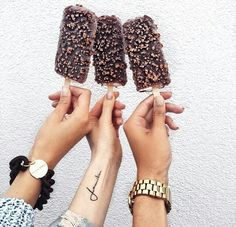 Imagen de ice cream, food, and chocolate