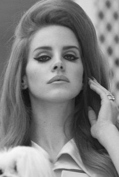 Lana Del Rey. She always has awesome hair and makeup!