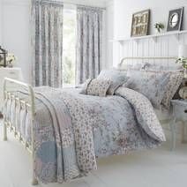 Duck Egg Bethany Bed Linen Collection