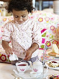 """I remember Grandmother making us brown sugar """"tea"""" because we were to young for grown up tea"""