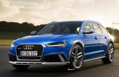Audi RS6 Allroad 2016 rendering