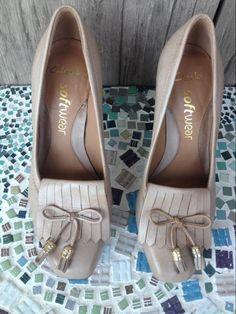 22443d4ea31 Clarks pumps schoenen beige hoge hak softwear 36 maat 3 - Schoenen -  Marktplaats.