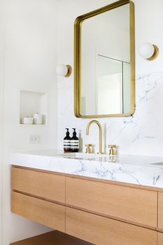 I'm continuing on with the full tour of our residential project for Mandy Moore, we have the master bathroom! Bathrooms and kitchens are my favorite spaces to design and this one measures pretty high…More Large Bathrooms, Modern Bathroom, Small Bathroom, Master Bathrooms, Contemporary Bathrooms, Bad Inspiration, Bathroom Inspiration, Bathroom Renovations, Home Remodeling