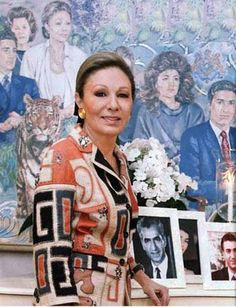 Queen Mother FARAH PAHLAVİ,ROYAL İRAN by Playing By Heart, via Flickr