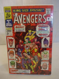 Vintage Marvel The Avengers No.1 comic book currently for sale in our HUGE comic book auction! Check it out at https://www.proxibid.com/asp/catalog.asp?aid=109267