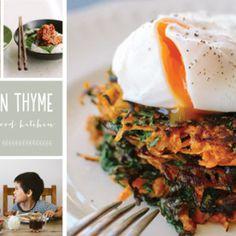 I Quit Sugar - Kumera + Kale Latkes w/ Poached Eggs
