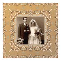 photo anniversary invitation v