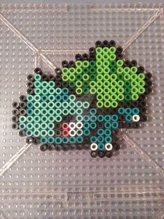 bulbasaur perler - Google Search