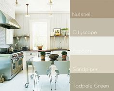 Great kitchen design and color