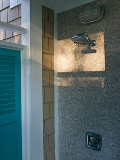 HGTV Smart Home 2013: Artistic View : HGTV Smart Home : Home & Garden Television - outdoor shower!
