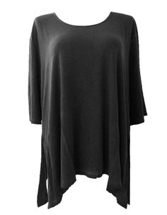 Barbara Speer Lagenlook Basic Shirt Long Shirt bei www.modeolymp.lafeo.de