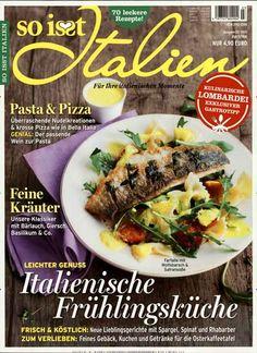 Leichter Genuss - Italienische Frühlingsküche. Gefunden in: So isst Italien, Nr. 3/2015