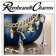 4a976f08a The World's Largest Charm Collection by offering each charm style in five  different precious metals: sterling silver, gold plate, yellow gold, ...