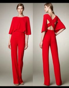 %name 41 Stylish Womens Jumpsuit Outfits Red Jumpsuit, Jumpsuit Outfit, Jumpsuit Elegante, Look Girl, Overall, Mode Style, Jumpsuits For Women, Passion For Fashion, Evening Dresses