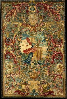 Designer: Possibly after a design by Charles Le Brun (French, Paris 1619–1690 Paris) Border probably designed by Jean Lemoyen le Lorrain (1637/38–1709)