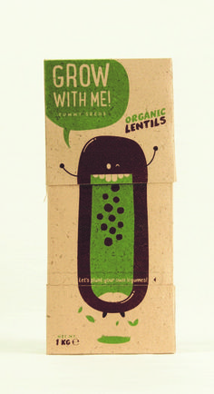 Grow With Me! ‎packaging ‎design by Andrea Ribera, Cristina Castells, Maria Fernanda Peña