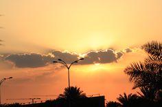 Sunset from Doha Corniche