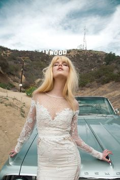 Inbal Dror, colección 2014 inspirada en la nostalgia y el glamour de Hollywood.