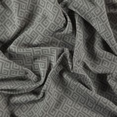 FR-One inherently flame retardant furnishing fabrics, grey patterned upholstery fabric from the Galileo collection