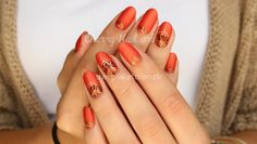 nail art gel paint foil abstrait