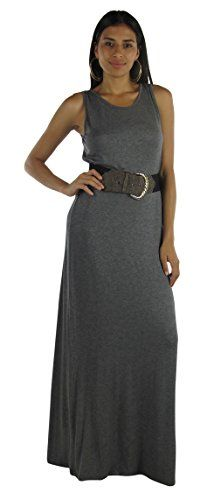Free to Live Women's Long Casual Basic Maxi Dress (Large, Charcoal) Free to Live http://www.amazon.com/dp/B00JSB3R6G/ref=cm_sw_r_pi_dp_-VUivb1EX9SRS