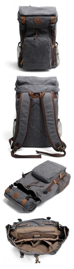 Canvas Backpack Rucksack School Backpack • Fabric Lining • Inside zipper pocket • It can hold a 17'' laptop, iPad, A4 document files, magazines, etc. ********************** Specifications: Length: 31c - merchandise bags, store bags, bags for sale *sponsored https://www.pinterest.com/bags_bag/ https://www.pinterest.com/explore/bags/ https://www.pinterest.com/bags_bag/drawstring-bag/ http://www.511tactical.com/bags-packs/bags.html