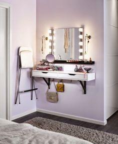 sombra aquí, sombra allá, maquíllate, maquíllate, un espejo de cristal.... | Decorar tu casa es facilisimo.com