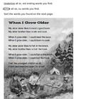 Phonics: oo ou words and -er -est endings poem with questions FREE!