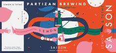 Partizan Brewing - Lemon & Thyme Saison