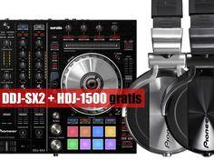 Buy Pioneer DDJ-SX2 and get HDJ-1500 gratis. Only in October!
