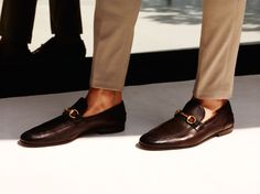 Gucci Men's Cruise 2014 Collection Leather Soled shoes, still have mine from 1997! Worth the price, last forever ....
