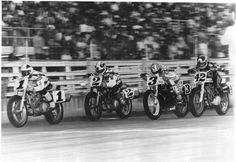 The Mile !! — with Chris Carr, Scott Parker, Ricky Graham and Steve Morehead at 1 Mile Dirt Track.