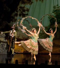 The Ballet scene from Il Muto from Broadway's The Phantom of the Opera.