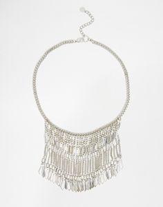 Pieces+Jean+Coin+Boho+Necklace- by Asos