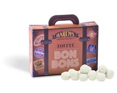 Hardys Toffee Bon Bons Suitcase Photography – David Comiskey Copyright © 2016 Hardys Trading Ltd, All Rights Reserved.