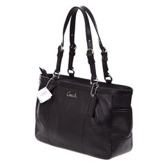 ON SALE!!! My favorite Coach Bag - Gallery Leather E/W Tote Handbag Pocketbook