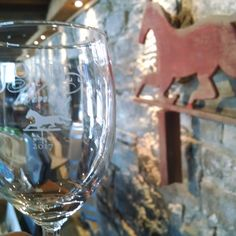 The Tasting Experience wine glass takes inspiration from the weather vane that used to be on top of our Dairy Barn, the building which now houses the Tasting Room. Wine Tasting Glasses, White Wine, Red Wine, Winery Logo, Tasting Room, Wines, Wine Glass, Past, Alcoholic Drinks