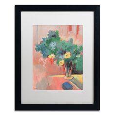 'Bouquet for Bonnard' by Sheila Golden Framed Painting Print