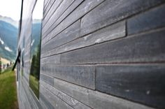 Therme Vals Spa by Peter Zumthor Peter Zumthor, Therme Vals, Architectural Materials, Gray Matters, Facade, Brick, Exterior, Stone, Gallery