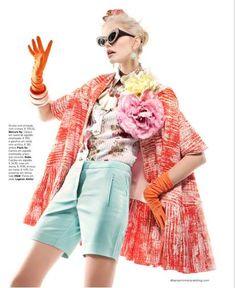 como combinar estampados  http://creandotuestilo.com/2012/03/15/tip-de-moda-como-combinar-estampados/#