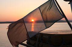 Sunset on Lough Corrib Irish Roots, Lighthouse, Outdoor Gear, Sailing, Ireland, Cruise, Adventure, How To Plan, Sunset