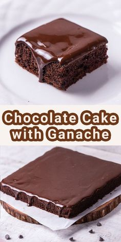Easy Chocolate Cake with Ganache is the best moist and soft cake for the chocolate lover! Smothered with a creamy chocolate ganache, this fancy and simple cake can be an entertaining dessert even for special days. Chocolate Ganache Cake, Chocolate Lovers, Chocolate Recipes, Dessert Recipes, Desserts, Us Foods, Easy, Butter, Yummy Food