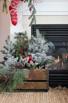 17 Amazing Rustic Christmas Decor Ideas That Look So Cozy - The ART in LIFE