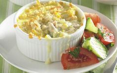 Tuna mornay bake recipe - By recipes+ Tuna Recipes, Apple Recipes, Baby Food Recipes, Seafood Recipes, Baking Recipes, Great Recipes, Healthy Recipes, Healthy Food, Tuna Mornay Recipe