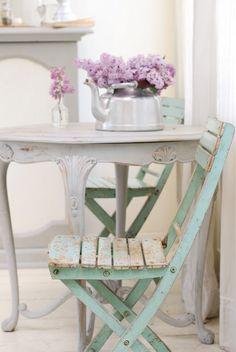 Los muebles restaurados siempre son un gran acierto.